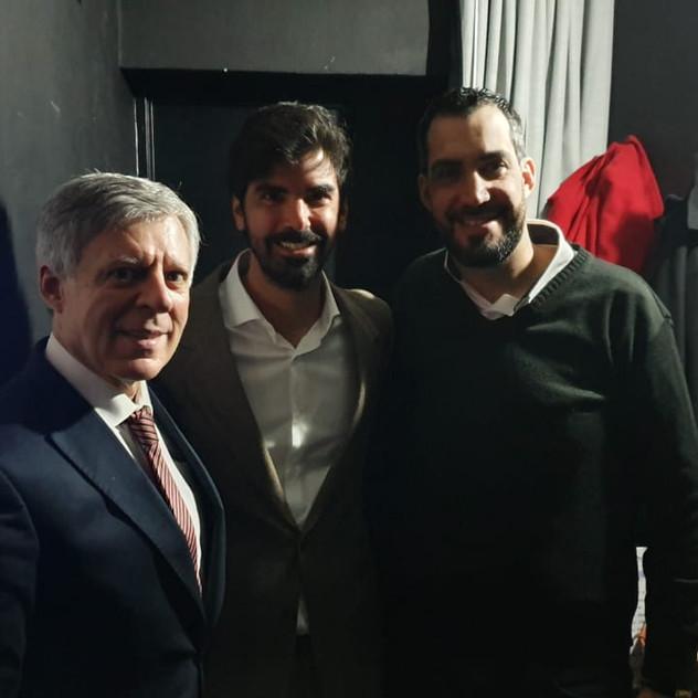 Leandro Viotto, Daniel Lopez Rosetti
