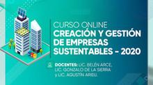 4 Becas para Curso: Creación y Gestión de Empresas Sustentables
