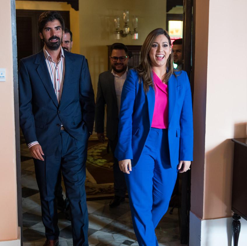 Leandro Viotto y Primera Dama