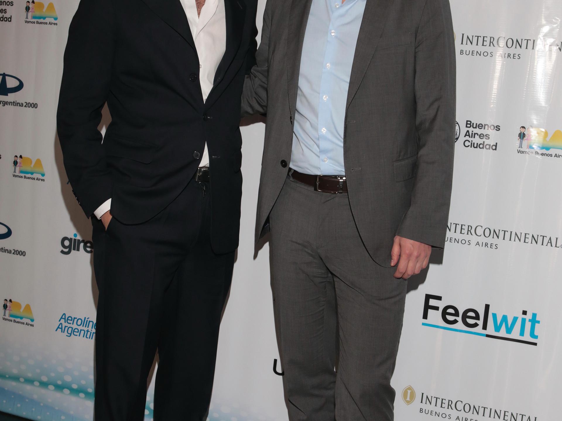 Leandro Viotto y Juan Manuel Galan
