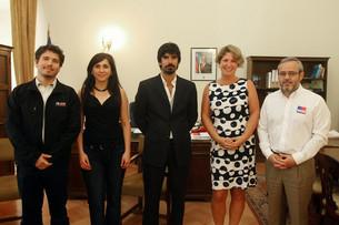Leandro Viotto Romano se reunió con el Ministro de Desarrollo Social de Chile, Bruno Baranda