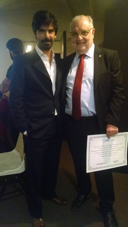 Leandro Viotto y Juan Carlos Rabbat