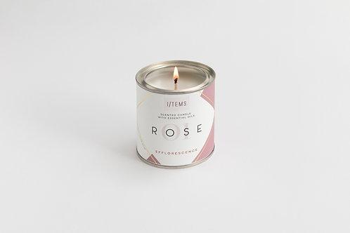 Efflorescence ROSE Candle
