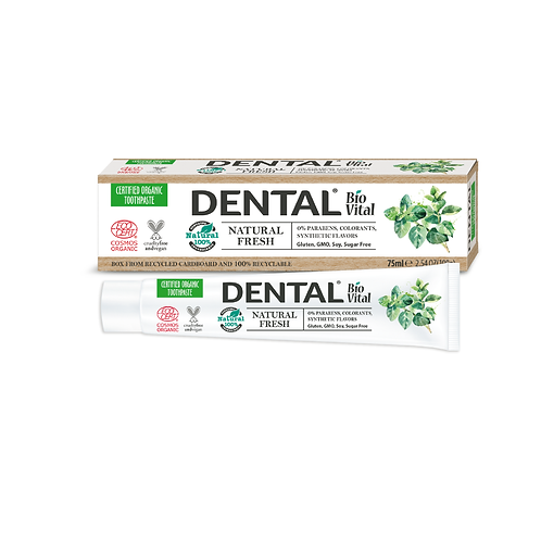 FRESH Natural Toothpaste