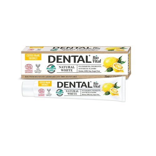 WHITE Natural Toothpaste
