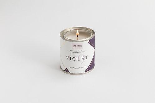 Apparition VIOLET Candle