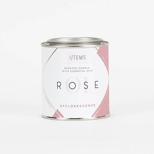 Blissful EFFLORESCENCE Rose Candle