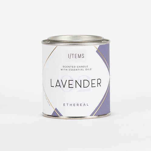 Calming ETHEREAL Lavender Candle