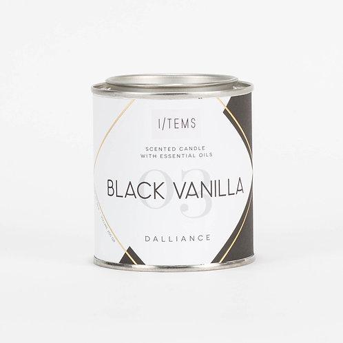 Arousing DALLIANCE Black Vanilla Candle
