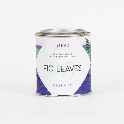 Balancing INGENUE Fig Leaves Candle