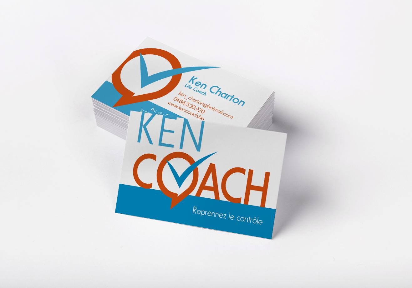Carte de visite coach