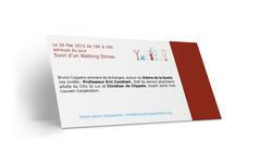 Carton d'invitation verso