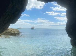 Secluded cove