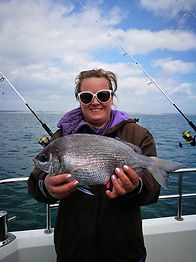 Inshore reef fishing with Katfish Charters