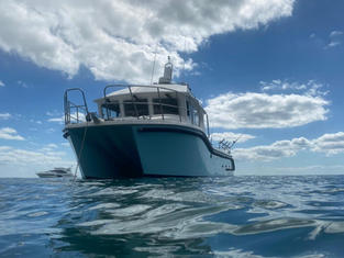 Our vessel Manta Ray