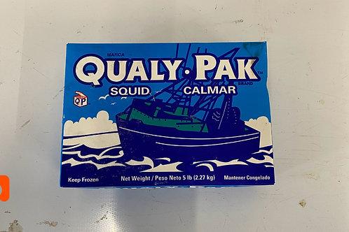 5LB Squid Box Calamari