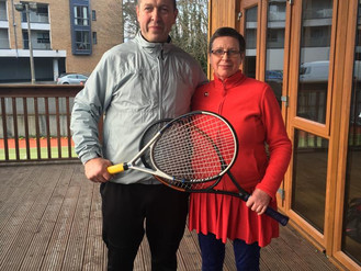 November Monthly Mixed Doubles