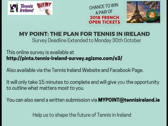 Tennis Ireland Survey