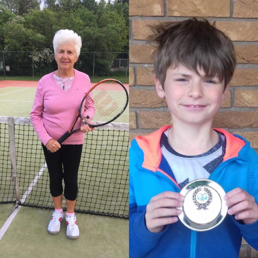 Miriam McManus, Thomas Crossan Dunboyne Tennis Club