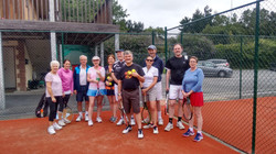July Monthly Mixed Doubles