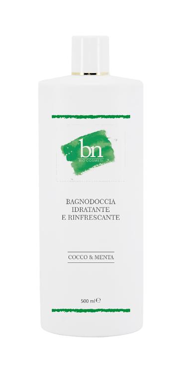 BAGNO DOCCIA IDRATANTE E RINFRESCANTE -Cocco&Menta 500ml