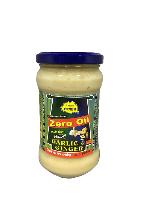 PREMIUM Crushed Garlic & Ginger Mix Paste