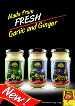 Garlic & Ginger Poster
