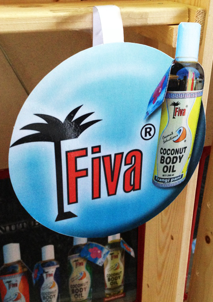 Fiva Body Oil Wobbler