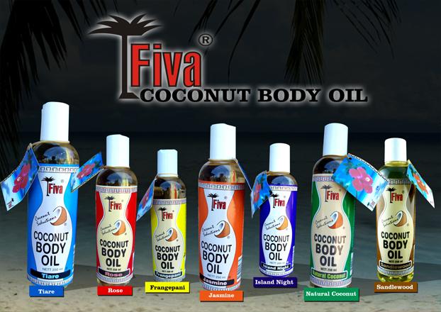 Fiva Body Oil Poster