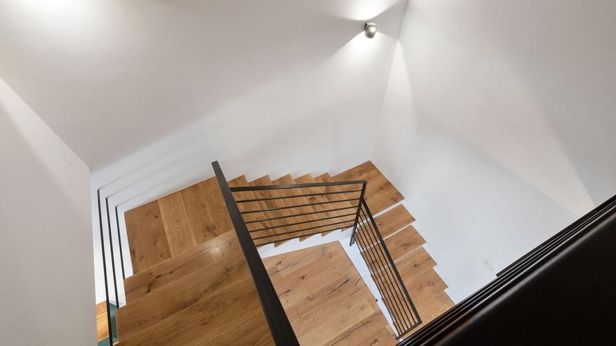 מדרגות עץ נגרות פנים