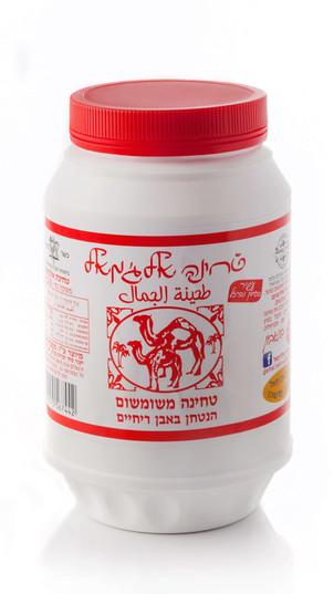 צילום מוצר מזון- טחינה אלג'מיל