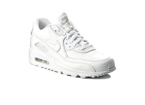 Nike Air Max 90 Leather  נייק אייר מקס לבן-לבן