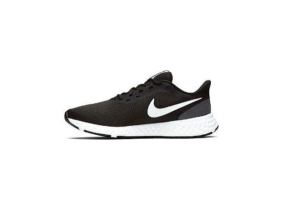 נייק רבולושיין שחור לבן Nike WMNS Revolution 5