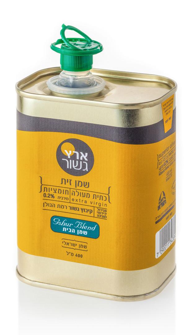 צילום מוצר מזון - שמן זית גשור