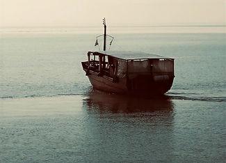The Sea of Galilee- a pilgrims boat.jpg