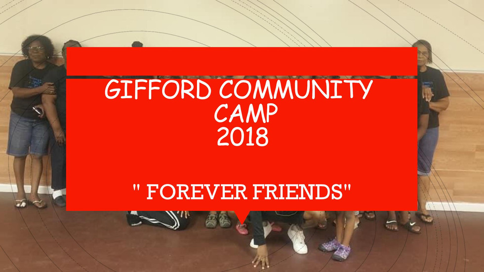 2018 Gifford Community Camp