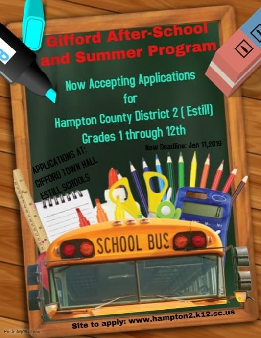 Gifford After-School and Summer Program! Apply Today!