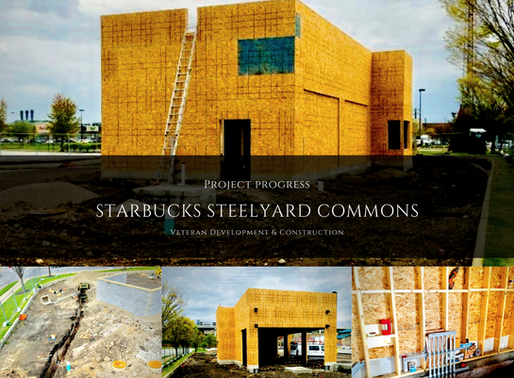 Steelyard Commons Starbucks Project Progress