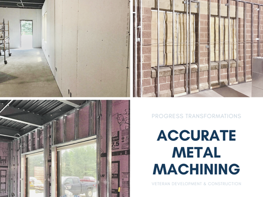 Accurate Metal Machining Project Progress