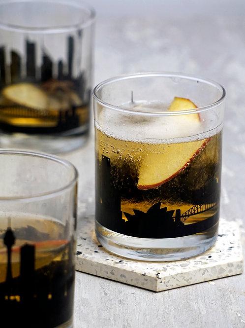 Sydney Whiskey Glass - Set of 2