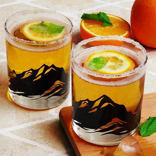 Mountain Whiskey Glass - Set of 2