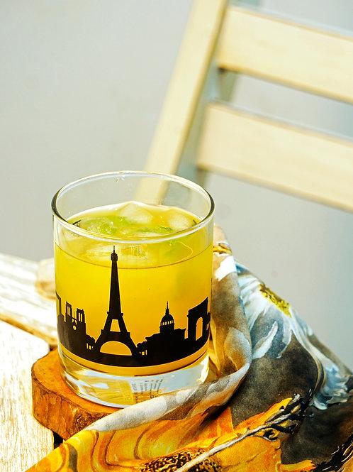 Paris Whiskey Glass - Set of 2