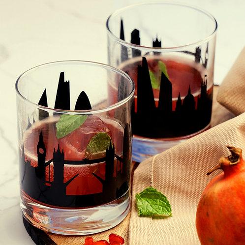 London Whiskey Glass - Set of 2