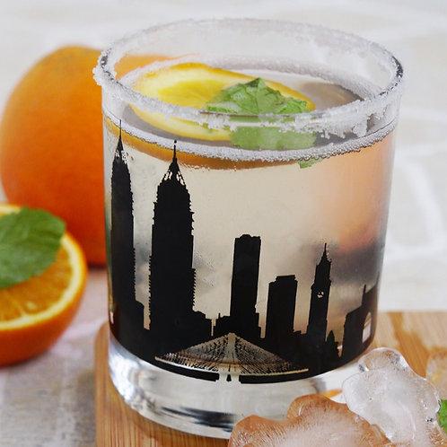 Bombay Whiskey Glass - Set of 2