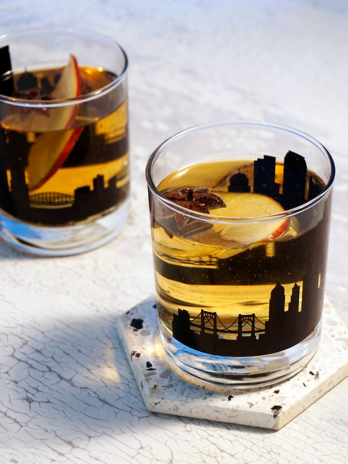 Pittsburgh Whiskey Glass - Set of 2