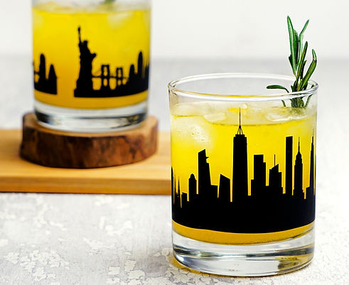 NewYork_skyline_whiskey_glass_gift_set