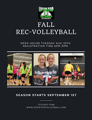 Fall Rec Volleyball League