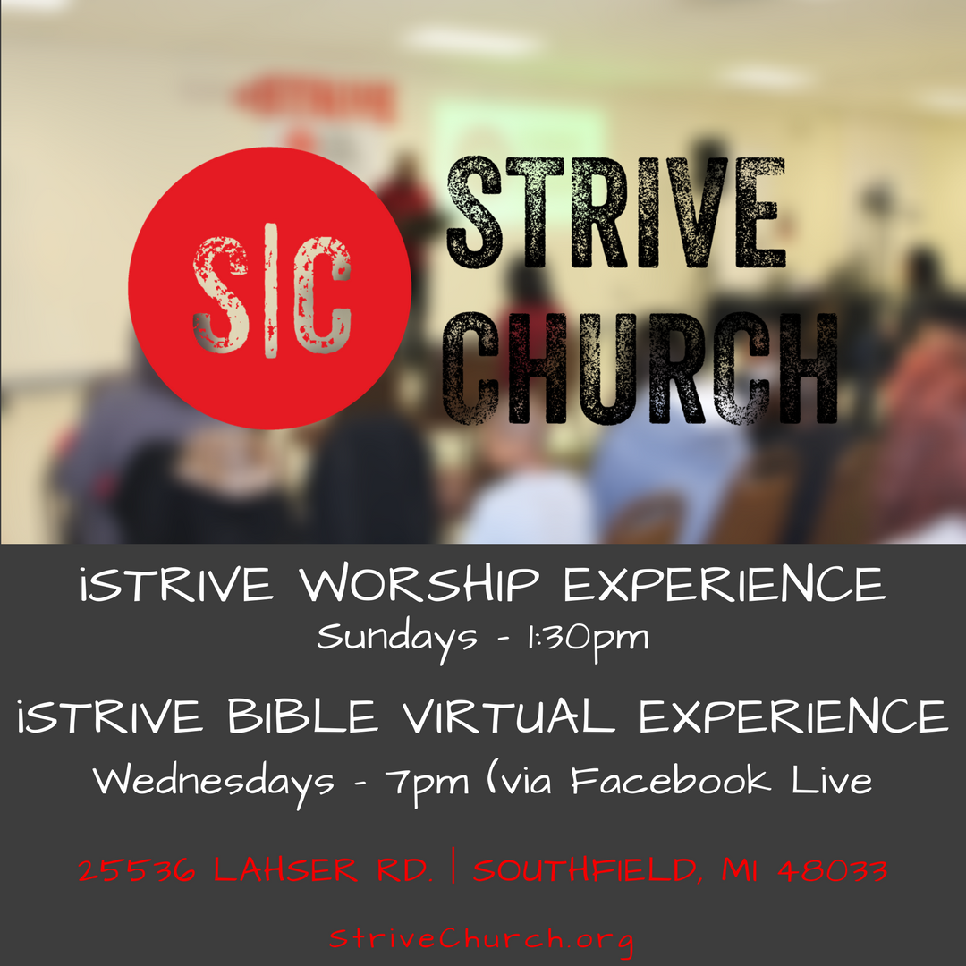 iSTRIVE WORSHIP EXPERIENCE