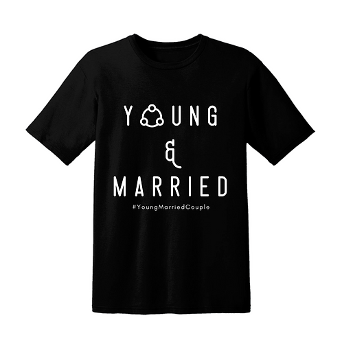 Young & Married Shirt (Black)