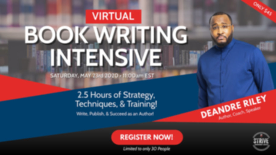 Copy of Book Writing Intensive May 2020.
